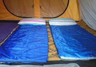Camping at Site B